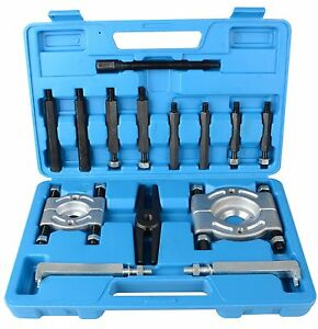 14pcs Bearing Separator Puller Set 2 And 3 Splitters Remove Bearings Kit Vip