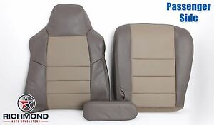 2003 Excursion Eddie Bauer complete Passenger Replacement Leather Seat Covers