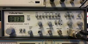 Wavetek 2mhz Sweep function Generator Model 19