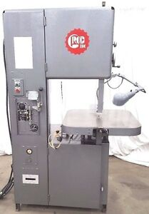 Grob 4v 18 Vertical Band Saw Bandsaw Contour Table Light Blades Welder