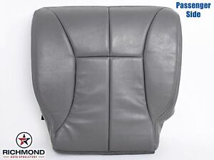2000 2001 Dodge Ram 1500 Slt Passenger Side Bottom Leather Seat Cover Gray