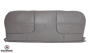 1999 2001 Ford F450 F550 Xl Utility Bed Bottom Vinyl Bench Seat Cover Gray