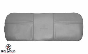03 07 Ford F250 Xl 4x4 Diesel Service Utility Bed Vinyl Bench Seat Cover Gray