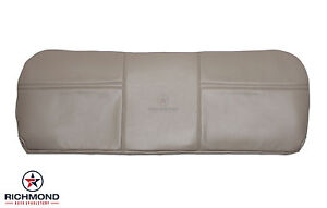 03 04 Ford F250 F350 Xl Service Utility Bed Bottom Bench Seat Vinyl Cover Tan