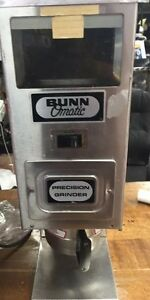 used Bunn G9t Hd Tall Precision Commercial Coffee Grinder Free Shipping