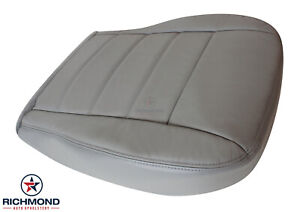 2009 Dodge Charger R t Sxt Se driver Side Bottom Leather Seat Cover Gray