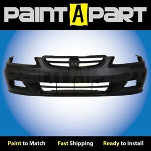 2001 2002 Honda Accord Coupe Front Bumper Cover Premium Painted