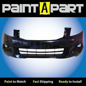 2008 2009 2010 Honda Accord Sedan Front Bumper Painted B536p Royal Blue Pearl