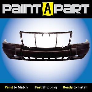 Fits 1999 2000 Jeep Grand Cherokee Sport W Fogs Front Bumper Premium Painted