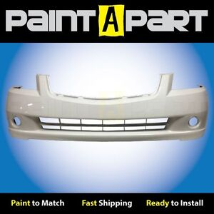Fits 2005 Nissan Altima S Se Sl Front Bumper Painted Qx3 Satin White Pearl