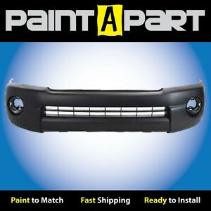 2005 2006 2007 Toyota Tacoma w o Flares splrs Front Bumper premium Painted