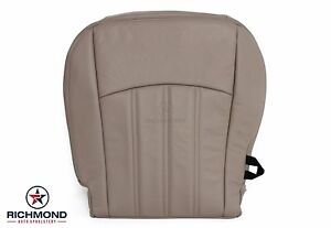 2010 2011 2012 Dodge Ram 2500 Sport Slt Driver Bottom Leather Seat Cover Tan