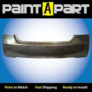 2006 2007 2008 Honda Civic Sedan Rear Bumper Painted Nh701m Galaxy Gray Metallic