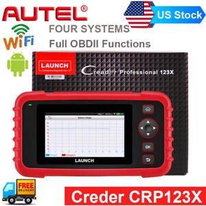 Us New Launch X431 Pro Crp123 X Airbag Abs Diagnostic Scann Tool Obd2 Code Read