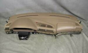 Bmw E38 750il Factory All Leather Stitched Dashboard Panel Beige 1995 2001 Used