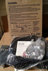New In Box Casio Ea 100 Data Analyzer Analysis System Actual Item Pictured