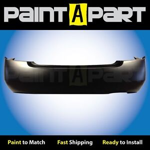 Fits 2003 Nissan Altima 2 5l 4cyl 1 Exhst Rear Bumper premium Painted