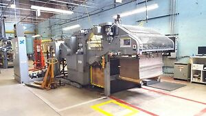 Bobst 1260e Automatic Die Cutting Machine Diecut Cardboard Box Sheets