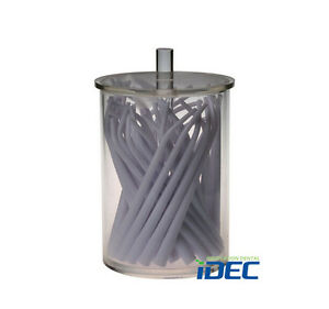 Dental Suction Tube Storage Box Acrylic Bucket 1pc