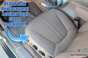 1999 Ford Expedition Eddie Bauer V8 V6 Driver Side Bottom Leather Seat Cover Tan