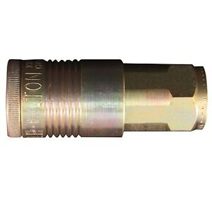 1 5 Milton 1805 Coupler 3 8 Female Npt P style Air Coupler Free S