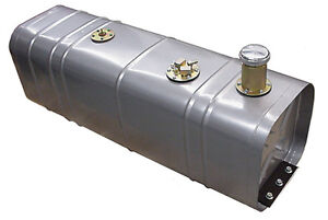 Tanks Inc U3 g Universal Steel Fuel Gas Tank W 3 Neck Alum Cap Hot Rat Rod