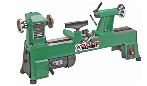 10in X 18in 5 Speed 1 2 Hp Benchtop Wood Lathe Turning Workpiece Shop Cast Iron