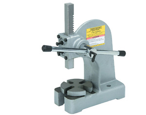 1 Ton Arbor Press Bearings Staking 2000 Metal Auto Garage Shop Benchtop Table