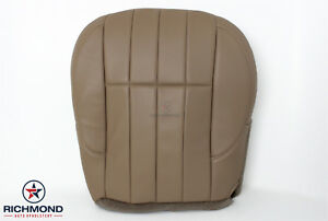 99 00 Grand Cherokee Limited driver Bottom Replacement Leather Seat Cover Tan