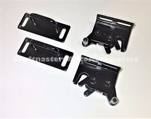 Combo Leer 700 Tonneau 2 Rotary Latches And 2 C strikers 83514 83515 80351