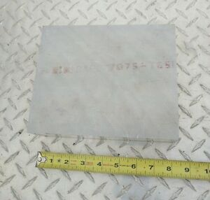 Aluminum Stock 7075 2 5 X 8 X 6 5 New Cnc Machining Tool Block