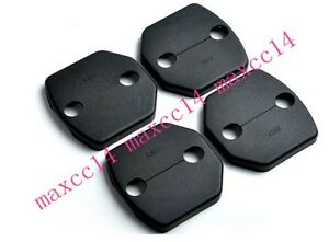 Door Lock Buckle Protecet Cover 4pcs For For 2012 2014 Ford Focus