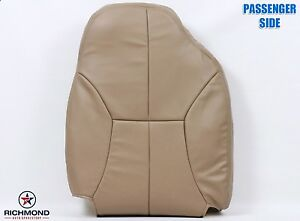1998 1999 Dodge Ram 2500 Slt passenger Side Lean Back Leather Seat Cover Tan