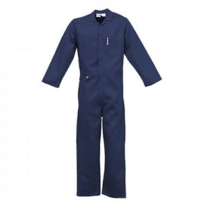 Stanco Nomex 4 5 Oz Navy Blue Flame Resistant Coveralls 3xl Xxxl