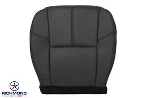 2011 Chevy Avalanche Lt driver Side Bottom Replacement Leather Seat Cover Black