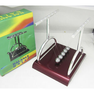 Newton Pendulum Ball Colliding Ball Energy Conservation Single Pendulum Science