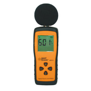 Mini Digital Lcd Sound Level Meter Tester High Low Frequency 30db 130db