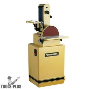 Powermatic 1791291k 1 1 2 Hp Belt disc Sander New