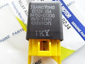 Oem Mini Relay Assy Dc12v 20a 4pin Ssangyong Musso sports Korando 8415001300