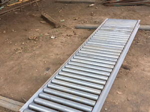 25 Gravity Roller Conveyor 8 6 Sections
