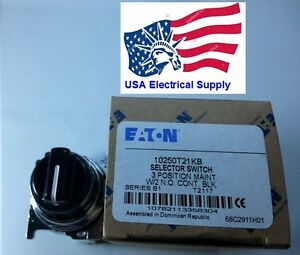New Eaton Heavy Duty Oiltight Selector Switch On off on 3position 2no