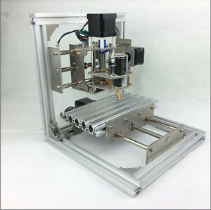 Cnc Mini Milling Engraving Machine 3 Axis Router Diy Pcb Wood Acrylic Carve Kit