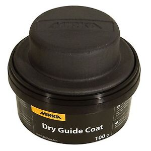 Mirka Dry Guide Coat Black 100g Powder Makes Imperfections And Scratches Visible