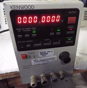 Kenwood Pw18 2 Regulated Dc Power Supply T9529 off3
