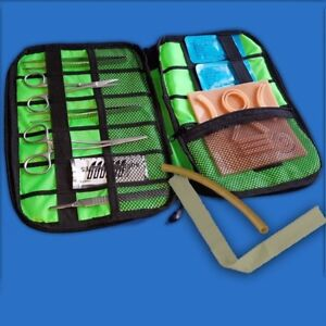 Suture Training Kit V2 Surgical Practice Wound Sew Medical Student Doctor Nurse