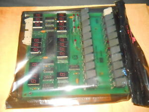 Millipore Waters M710b Front Panel Board For Wisp 72424