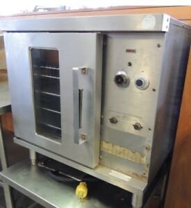 Hobart Half Size Convection Tabletop Oven Tested 208volt 3ph Cn 85