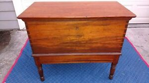 Rare Antique Southern Sugar Chest