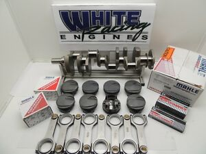 Bbc 496 Chevy Forged 4340 With Mahle Pistons Balanced Rotating Assy 1pc Rms 030