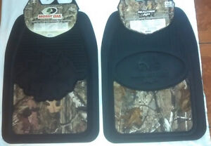 2x Realtree Ap Or Mossy Oak Camouflage Camo Front Floor Mats Car Truck Suv 1 Set
